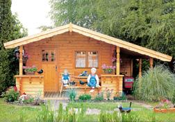 Gartenhaus R 13a