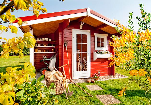 Bunte wohnkultur - Bunte gartenhauser ...