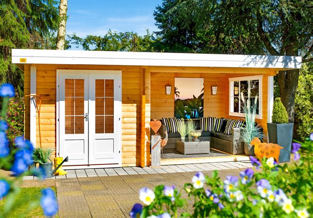 Gartenhaus Mit Lounge lounge 1