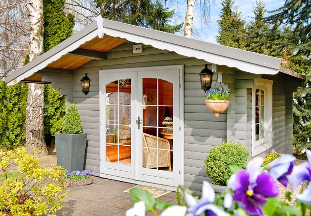gartenhaus r 10. Black Bedroom Furniture Sets. Home Design Ideas