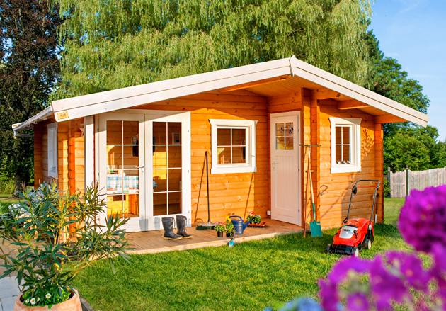 Gartenhaus r 12 - Gartenhaus neu gestalten ...