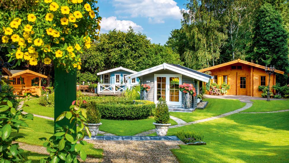 Gartenhaus Ausstellung Niederrhein